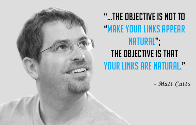 Matt Cutts nói về natural backlink