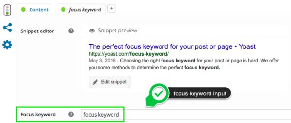 Focus keyword là gì ?
