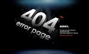 Lỗi 404 not found