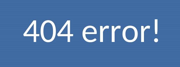 Lỗi 404 ( ảnh minh họa )